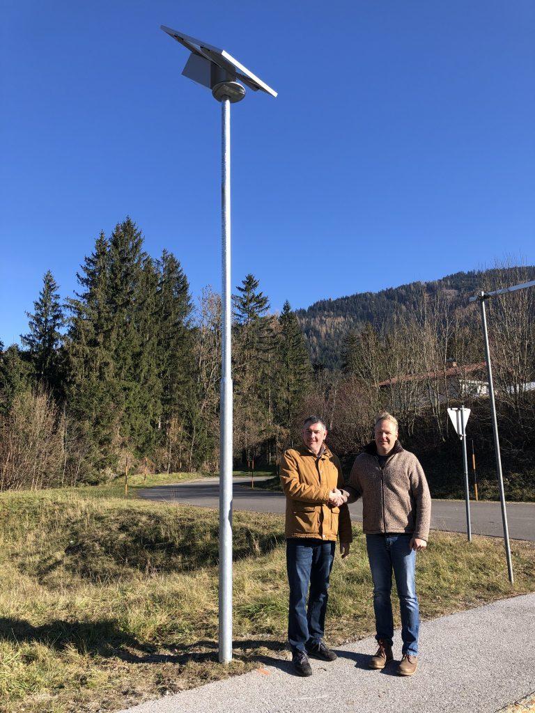 Solar Straßenbeleuchtung Hersteller Congaia
