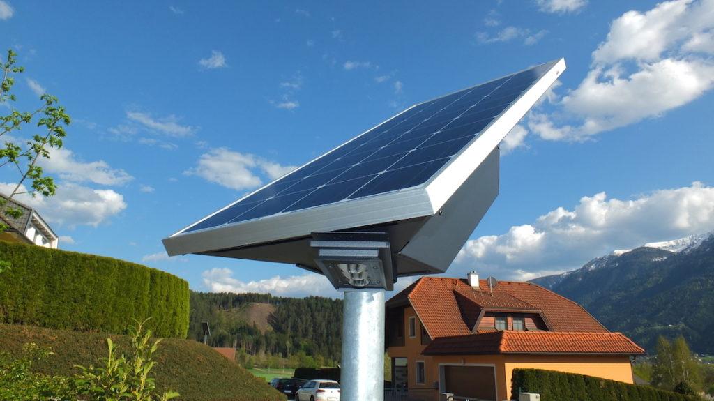 Solar Straßenbeleuchtung