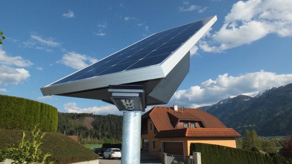 Solar Straßenlaternen