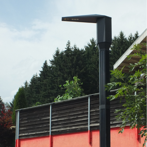 Straßenbeleuchtung LED solar