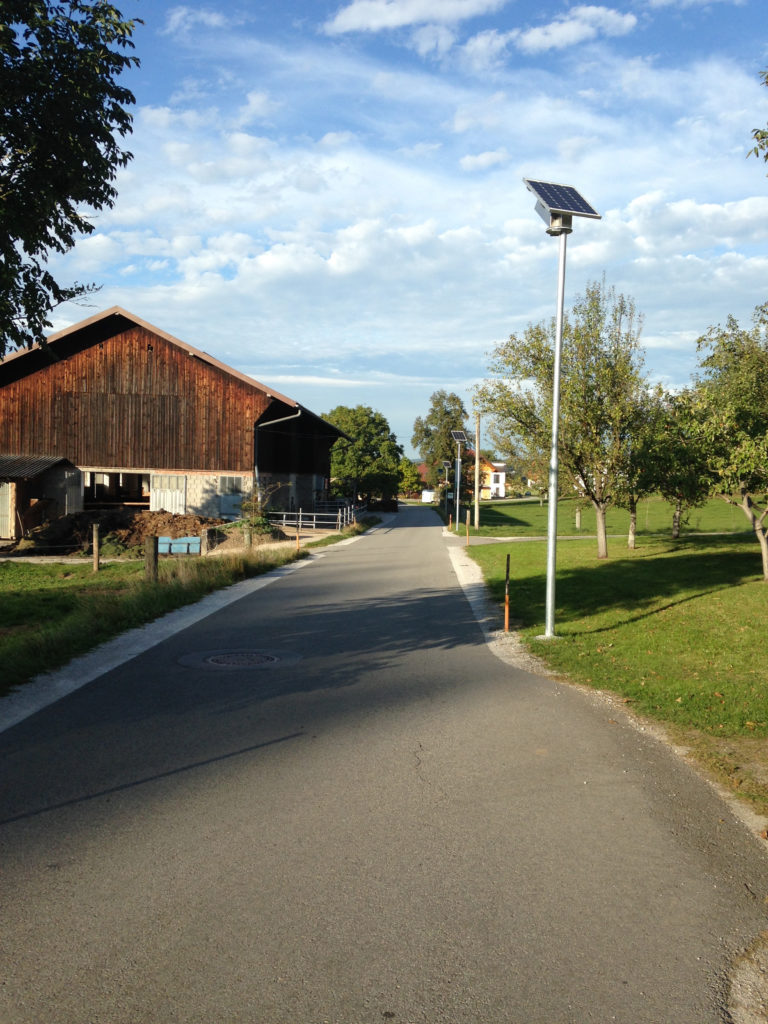 Solare Straßenbeleuchtung Kosten