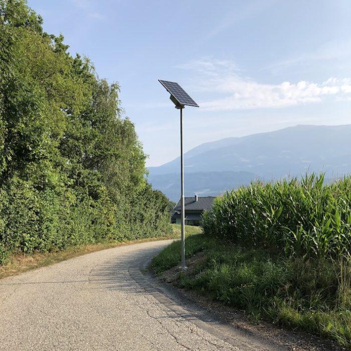 Congaia Solarleuchten für die Gemeinde Paternion