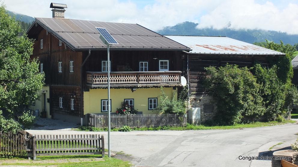 Solar Straßenleuchten in Goldegg