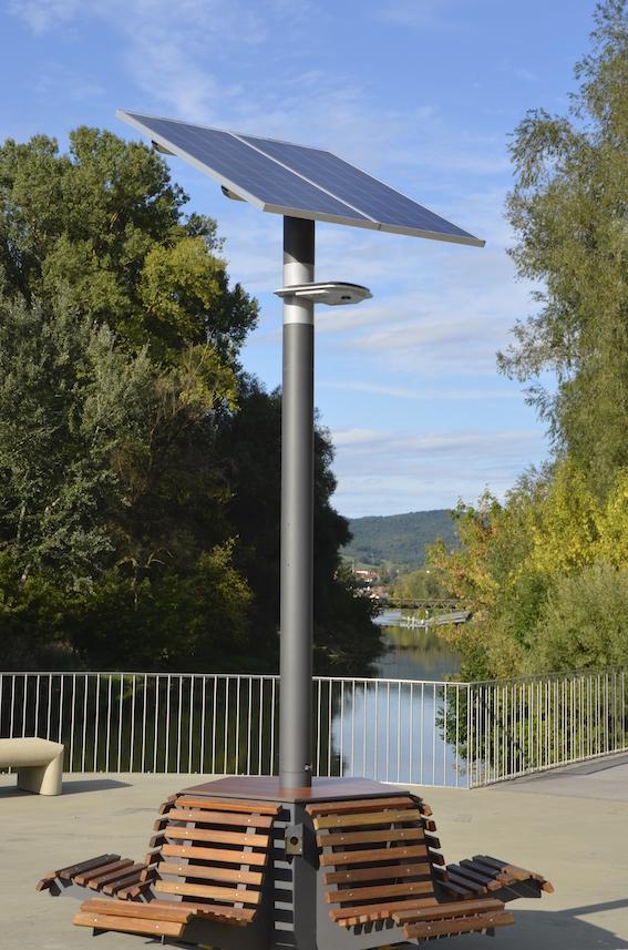 Solar Straßenlaterne