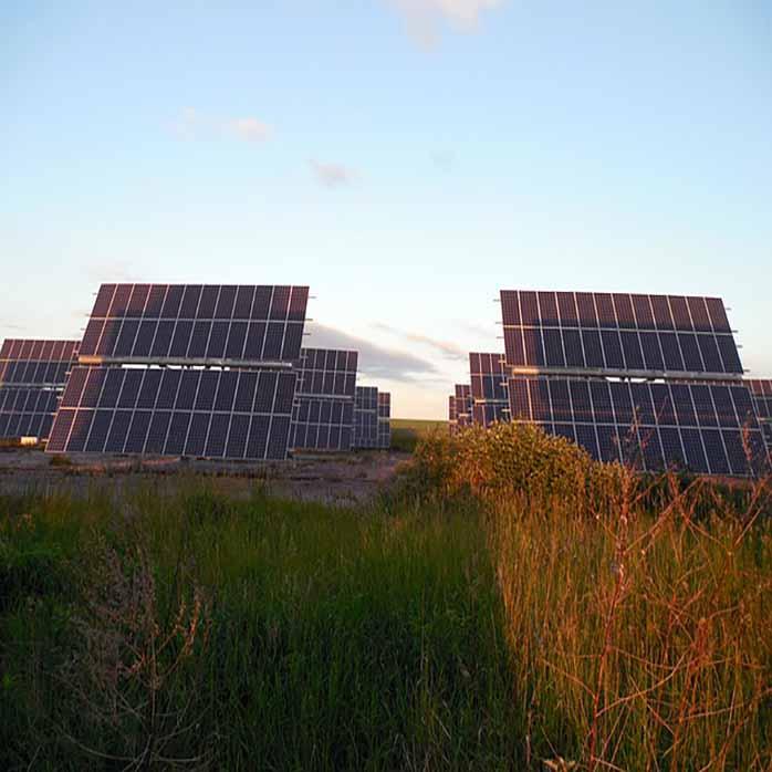 Umweltschutz und Solarenergie