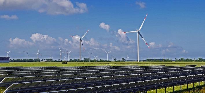 Umweltschutz mit Solarenergie