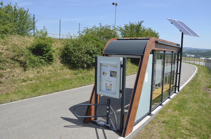 Straßenbeleuchtung Solar