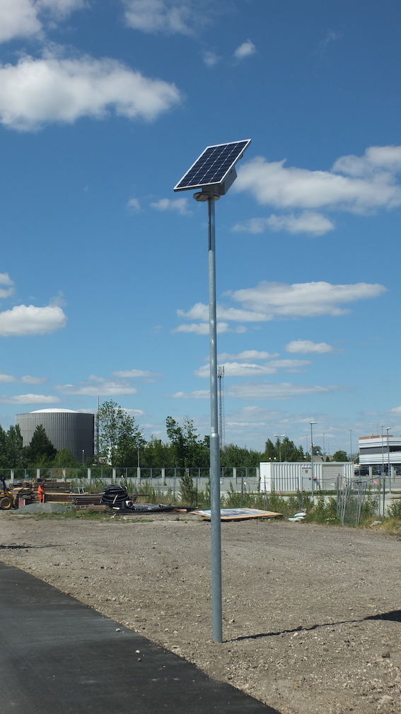 LED Solarbeleuchtung
